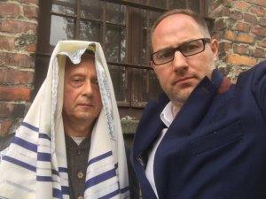 Rabin Janusz Baranowski i Architekt Sebastian Stefański
