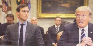 Jared Kushner jest nie tylko doradcą prezydenta Donalda Trumpa, lecz także jego zięciem. Może też być jego kłopotem