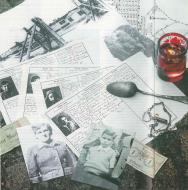 Przedmioty, które oszust Binjamin Wiłkomirski prezentował na dowód tego, że jako dziecko był więźniem obozu na Majdanku