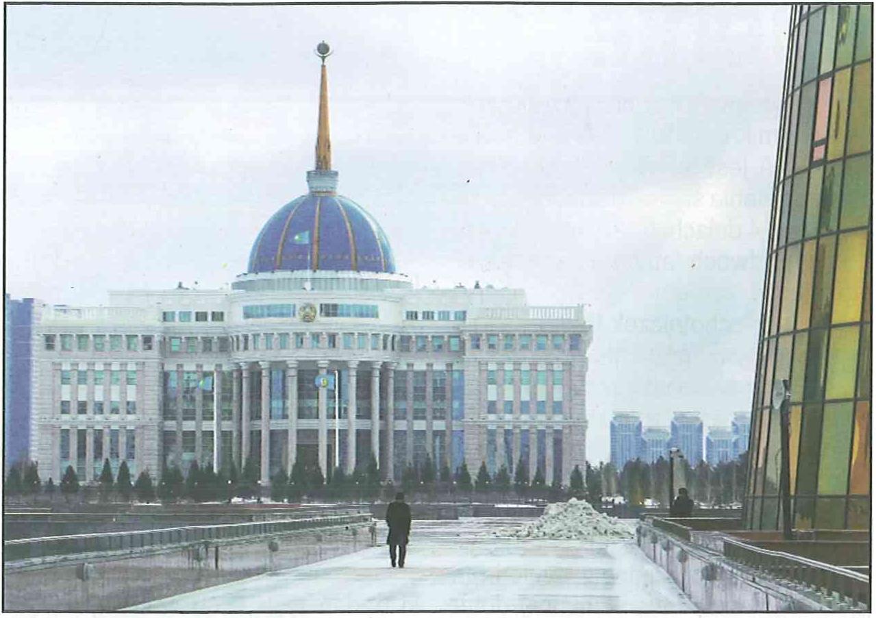 Pałac Ak Orda, siedziba prezydenta Nazarbajewa, urbanistyczne centrum Astany