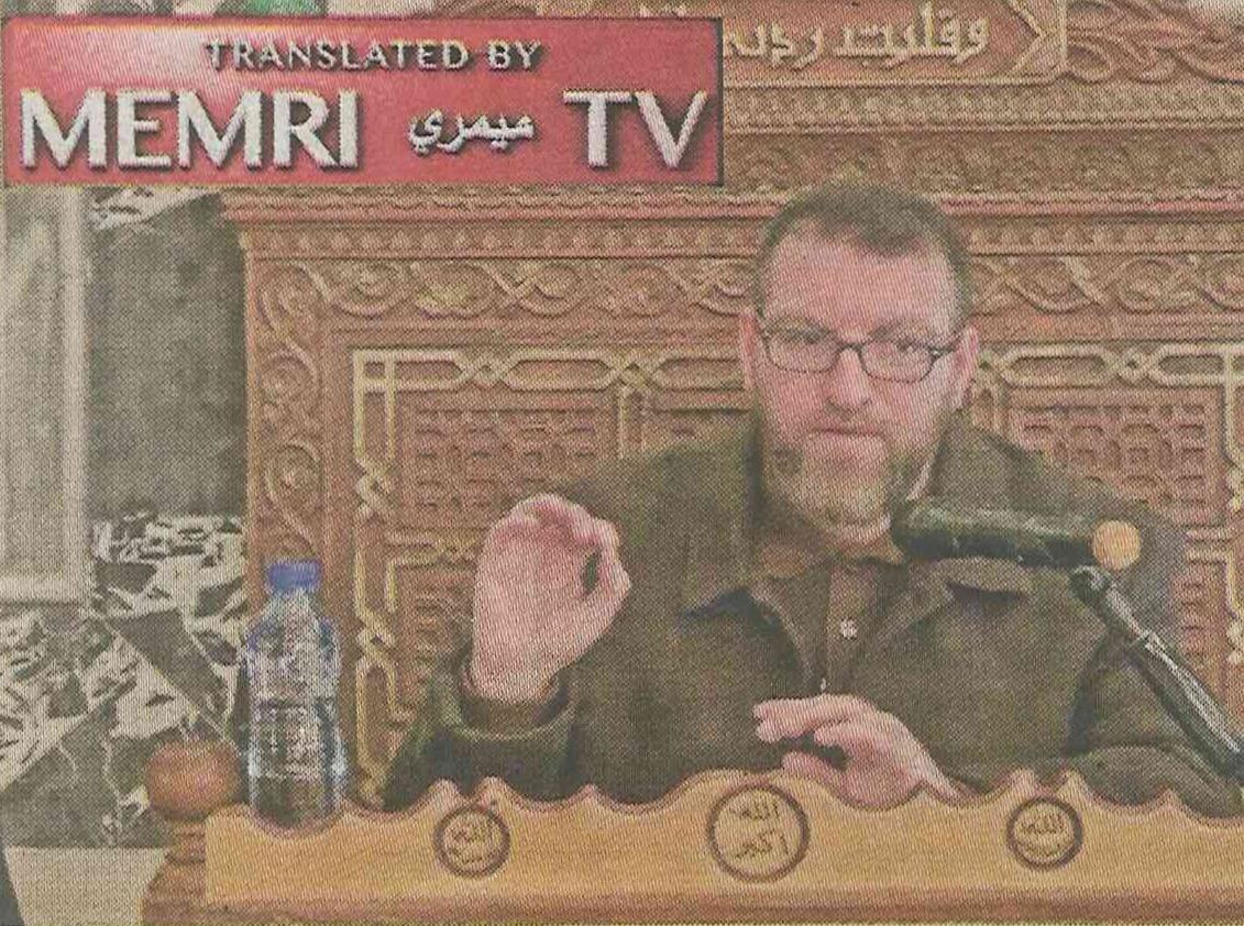 """Szejk Al-D przedstawił swój plan budowy islamu na ruinach laickiej Europy, który ma się oprzeć najpierw na Francji, niegdyś """"najstarszej córce Kościoła"""