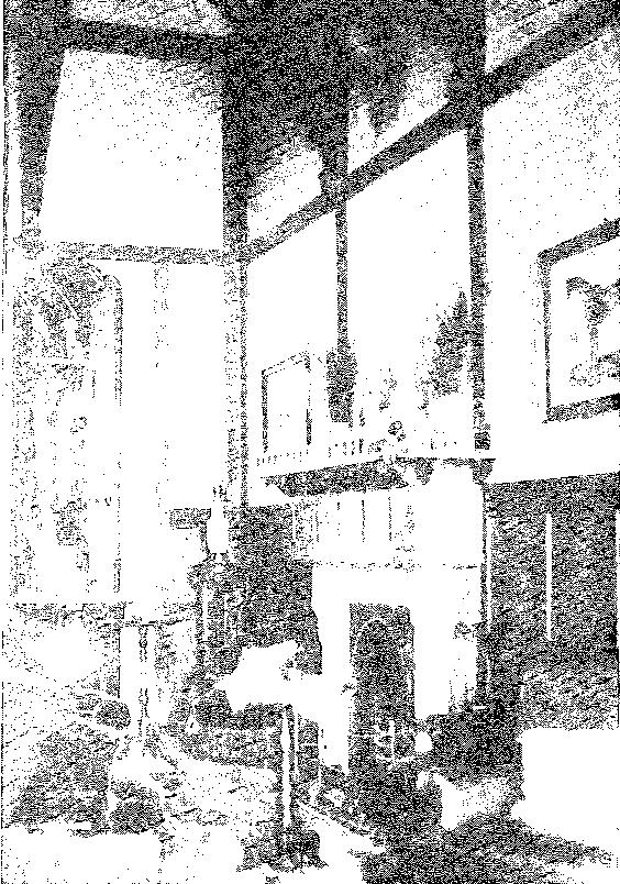 Biała Waka. Kominek w hallu, przed 1939 r.
