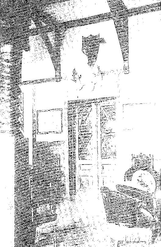 Biała Waka. Fragment hallu, przed 1939 r.