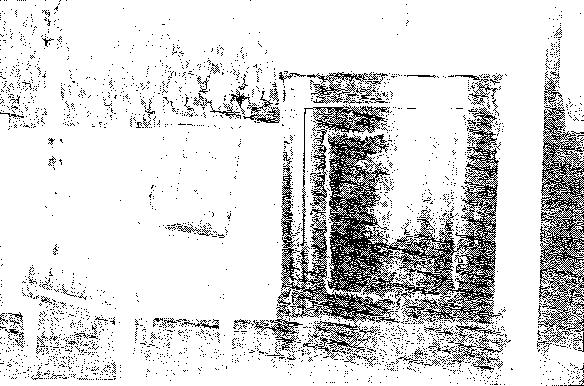 Biała Waka. Fragment salonu, przed 1939 r.