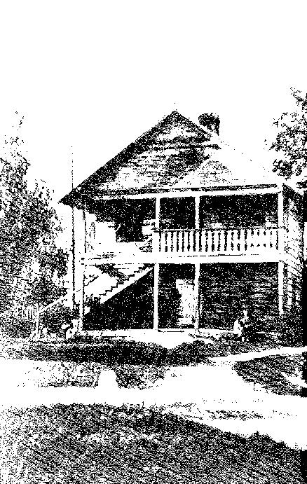 Biała Waka. Lamus, ok. 1939 r.