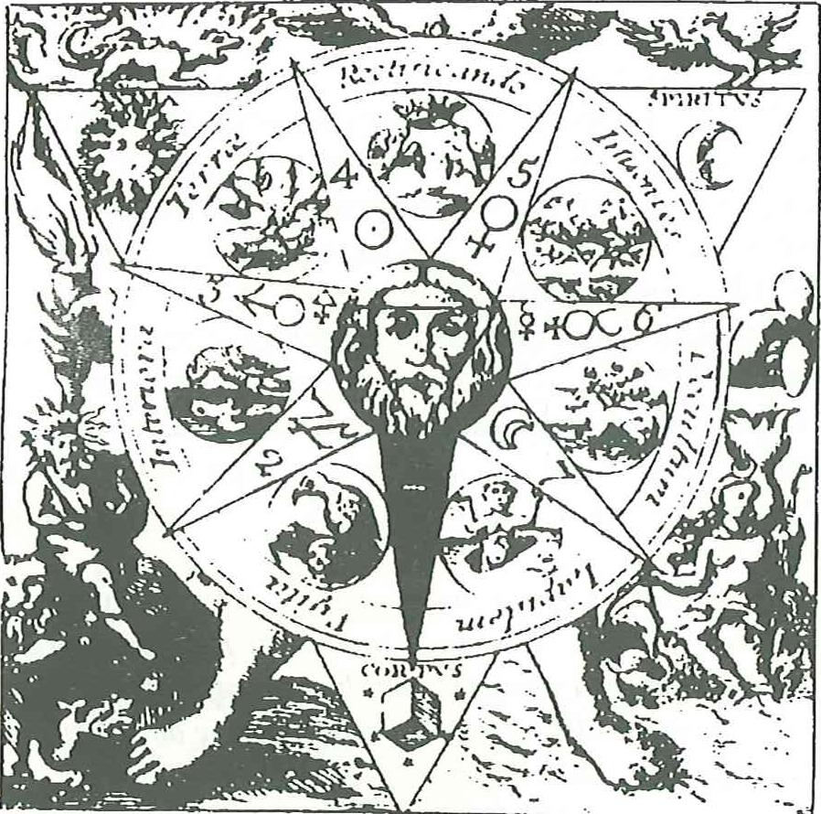 Symbol witriolu według Basiliusa Yalentinusa (1749)