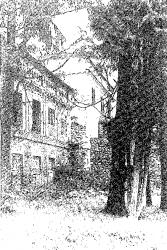 Belmont. Fragment pałacu, przed 1939