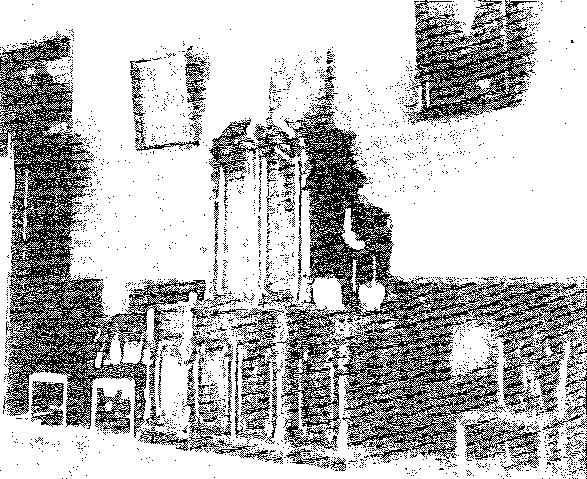 Biała Waka. Sala jadalna, przed 1939 r.