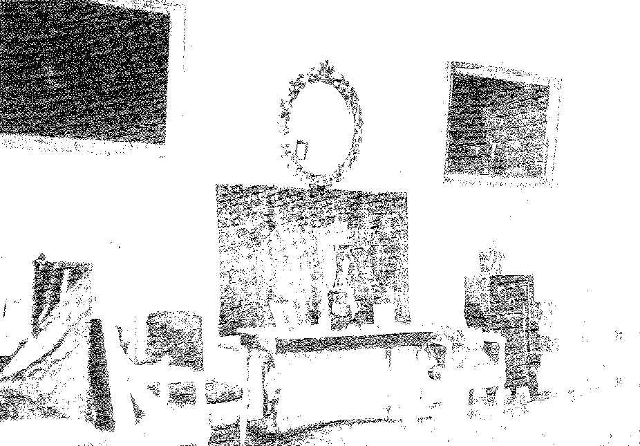 Biała Waka. Salon, przed 1939 r.