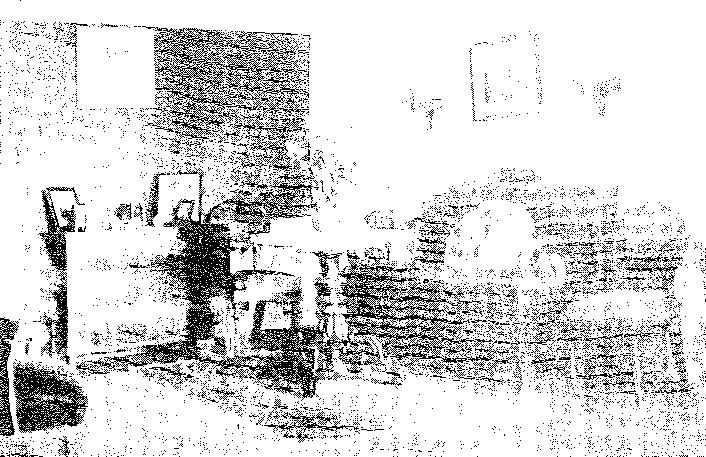Biała Waka. Pokój mieszkalny, przed 1939 r.