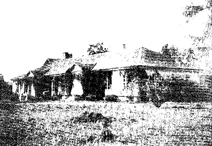Biała Waka. Oficyna, przed 1939 r.